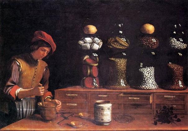 Паоло Барбиери. Лавка пряностей. (1637)