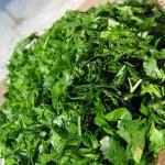 Салат из петрушки