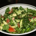 Салат из укропа