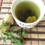 Чай от простуды с имбирем