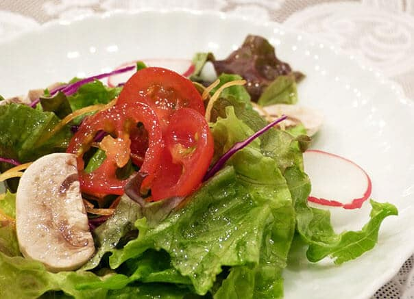 салат-с-жареными-шампиньоны