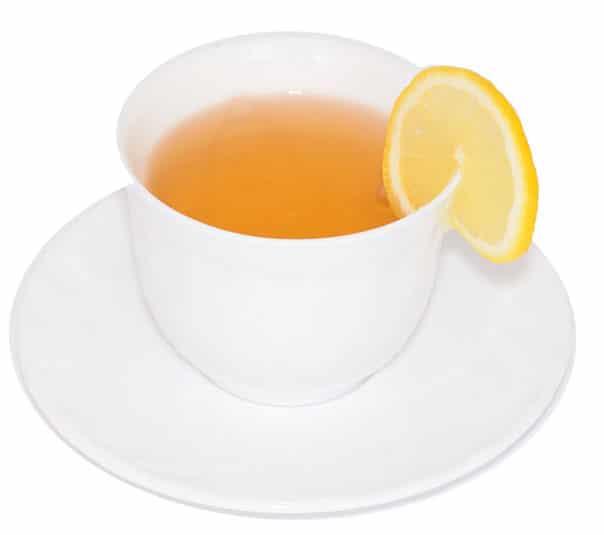 Чай с молотым имбирем