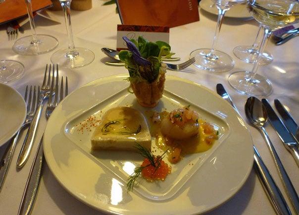 Гребешки в сливочном соусе