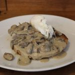 Соус с грибами и сметаной