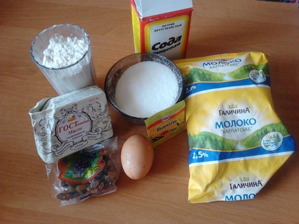 Ванильный кекс ингредиенты