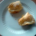 Пошаговый рецепт пирожков с яблоками и корицей
