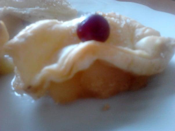 пироженое запеченые яблоки с корицей