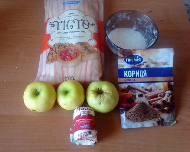 запеченные яблоки с корицей ингредиенты