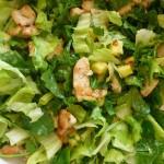Салат с сельдереем и яблоками