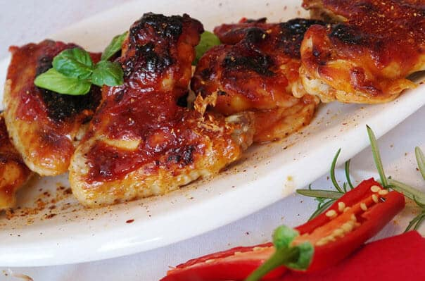 вкусная курица с имбирем