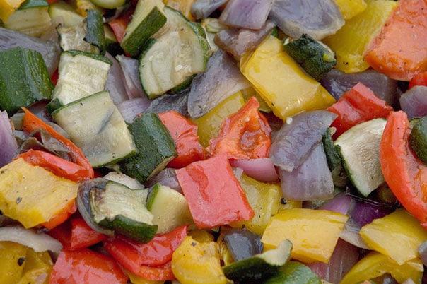 Салат-лечо из кабачков