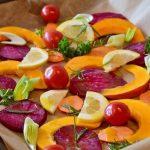 Нарезка овощей на праздничный стол